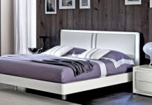 Szara sypialnia - z meblami Italia Style