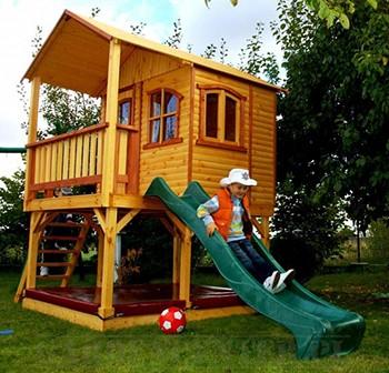 Zabawki ogrodowe - Domek JULIE z piaskownicą