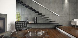 Niepowtarzalne wnętrza z betonem architektonicznym i cegłą od Jadar Home