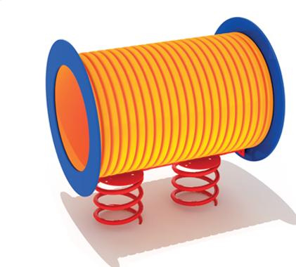 Zabawki ogrodowe - Pomost rurowy na sprężynach