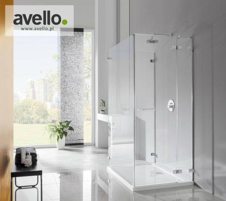 Przykładowa kabina prysznicowa firmy avello