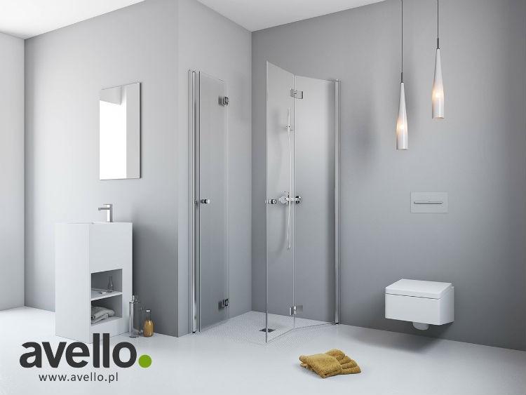 avello prysznicowa kabina ze skła