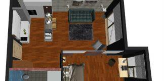 mieszkanie dla singla