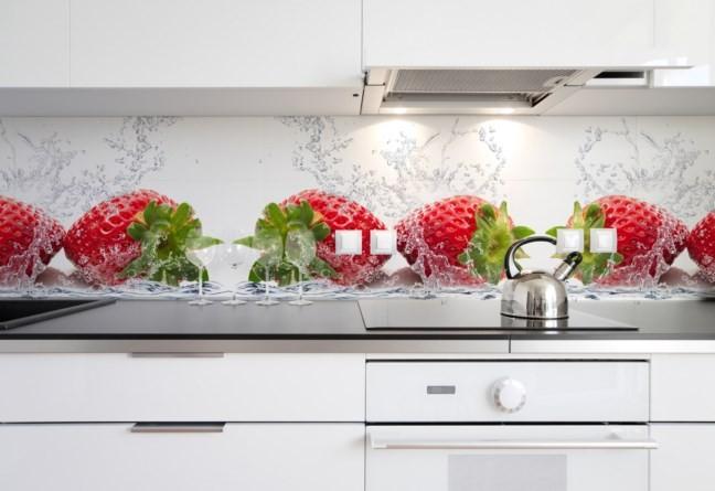 Wybór fototapety w kuchni