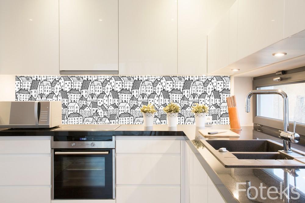 Fototapety w kuchni