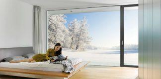 internorm zima okna trzyszybowe pasywne energooszczedne