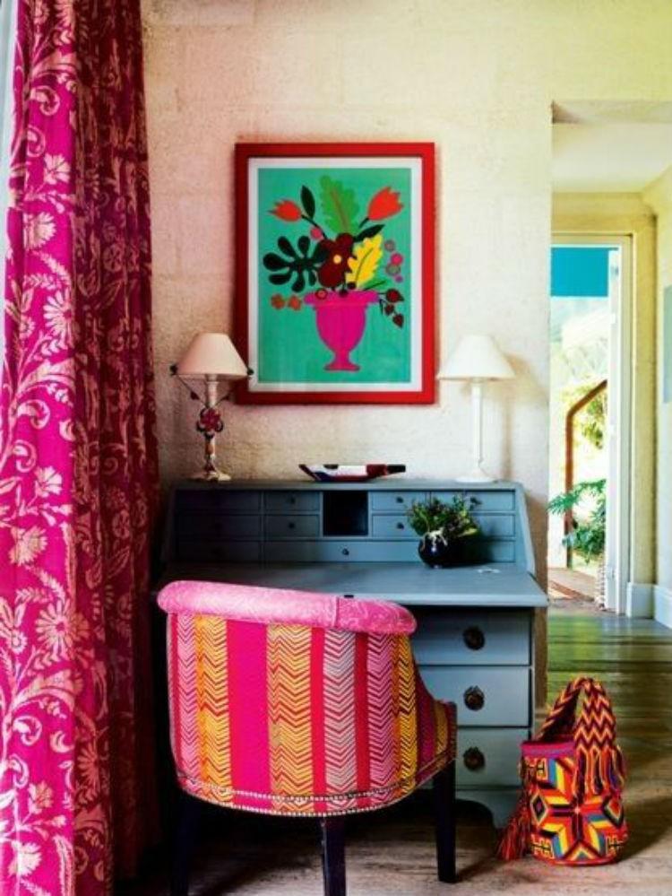 modne kolory wnetrz Vogue Australia