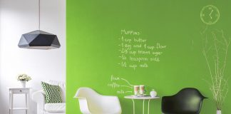 farba tablicowa kolor zielony