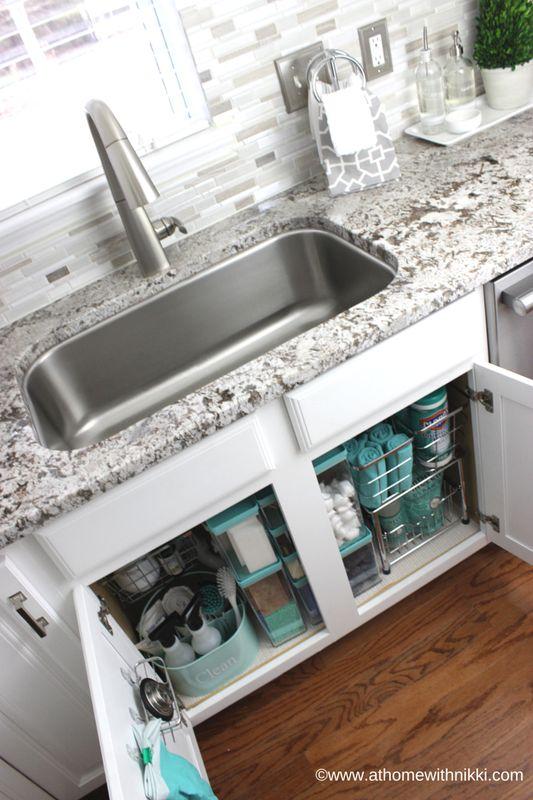 urządzanie strefy zmywania