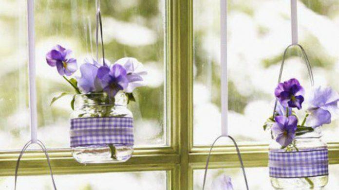 wiosenna dekoracja mieszkania zrób to sam