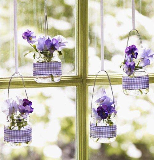 wiosenna dekoracja w mieszkaniu