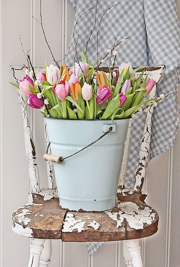 wiosenne dekoracje diy