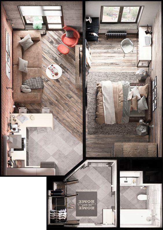 jak optycznie powiekszyc male mieszkanie