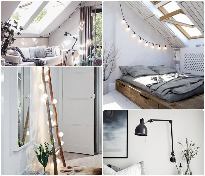 jak optycznie powiększyć małe mieszkanie oświetlenie