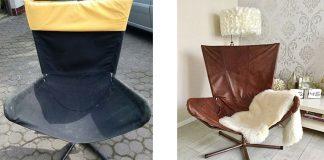 fotel z sieciówki renowacja