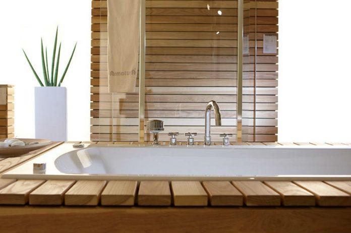 Armatura łazienkowa w stylu art deco