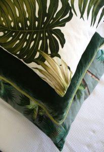 Poduszki w stylu tropikalnym