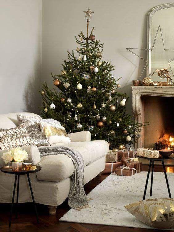 Święta w stylu skandynawskim choinka