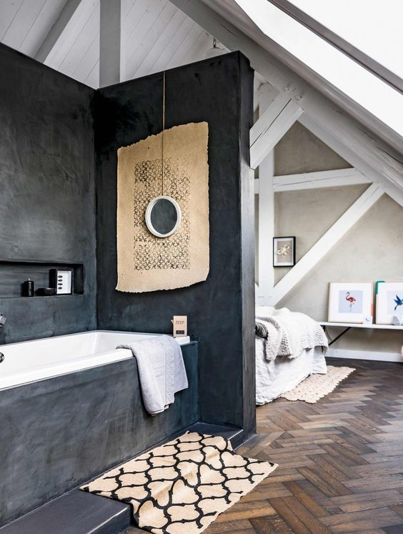 Łazienka w sypialni