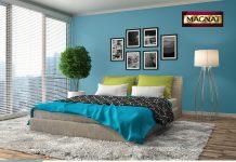 Sypialnia z charakterem Kolorowe inspiracje