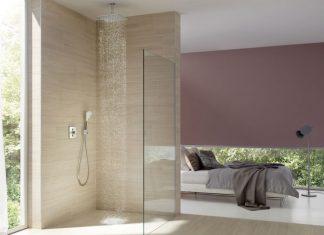 wiśniowa łazienka