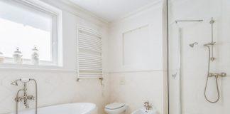 Minimalistyczna łazienka w nowoczesnym stylu