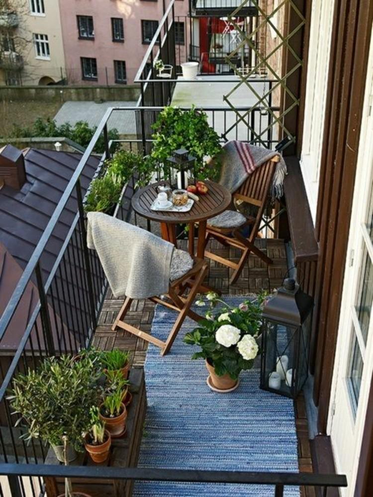 skandynawski balkon
