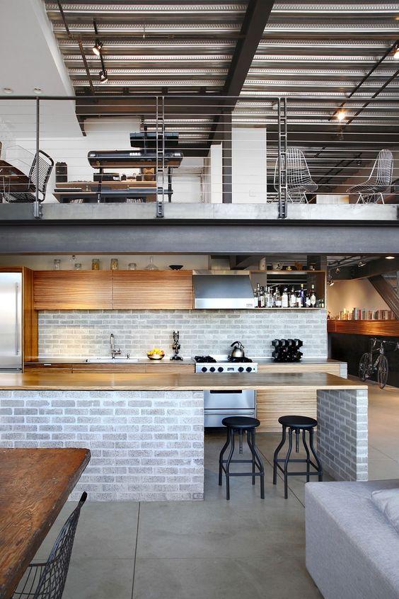 kuchnia loftowa