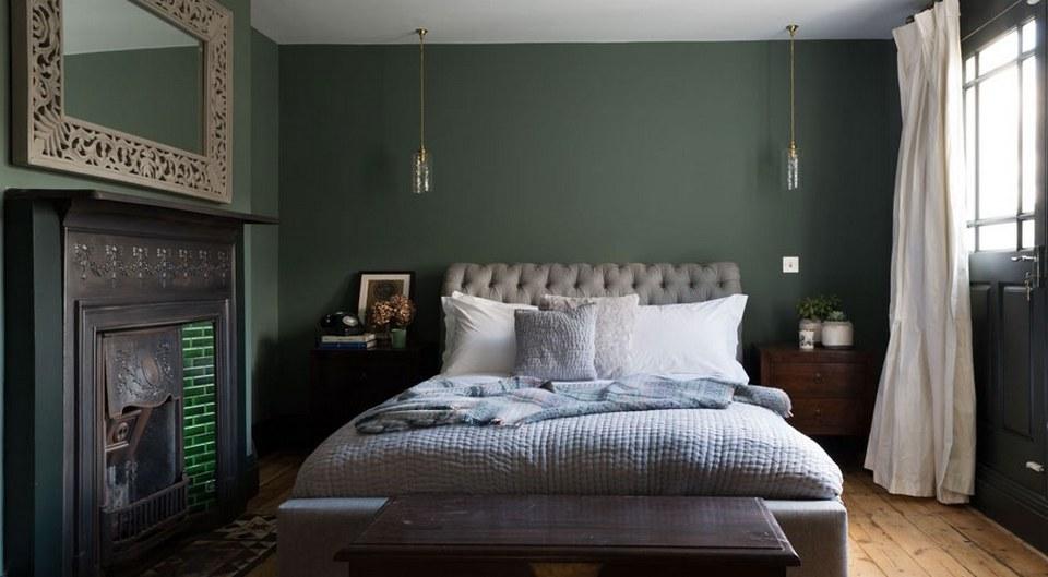 zielone modne kolory ścian