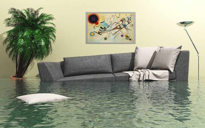 zalanie mieszkania