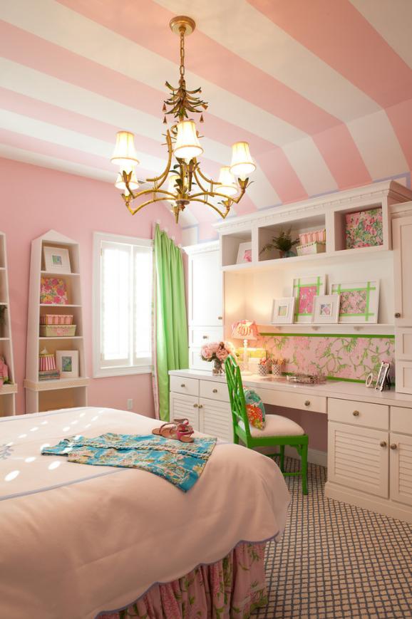 Pokój dziecka w stylu glamour