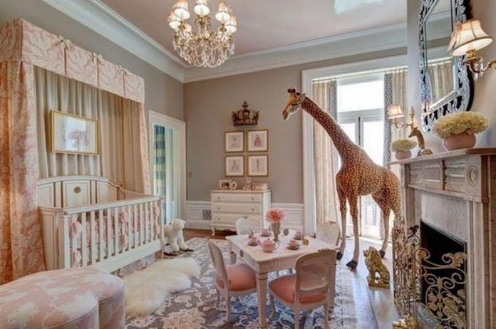 styl glamour w pokoju dziecka