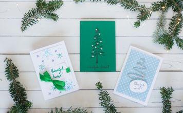 świąteczne kartki na boże narodzenie