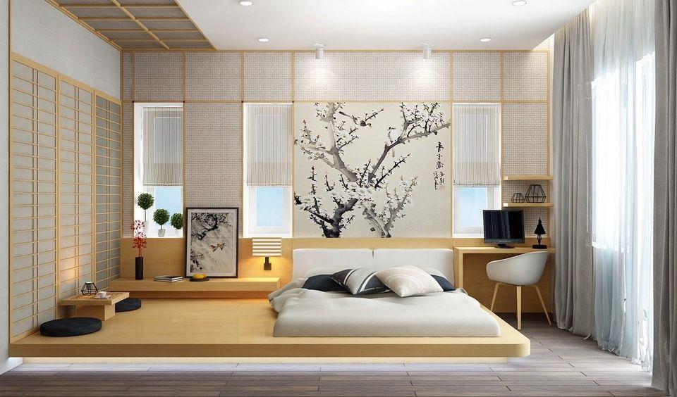 Sypialnia W Stylu Japońskim Czyli Sposób Na Skromną I