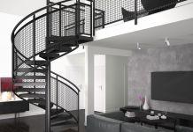 eleganckie schody na poddasze
