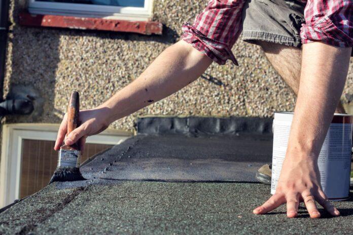 jak naprawic dach z papy