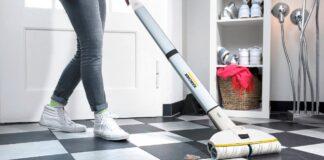 Mop elektryczny da najlepsze efekty z odpowiednim płynem do myci podłogi